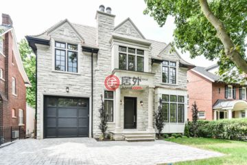 居外网在售加拿大5卧7卫新房的房产总占地697平方米CAD 6,095,000