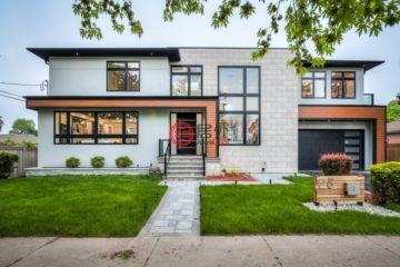 居外网在售加拿大多伦多5卧5卫的房产总占地576平方米CAD 2,299,000