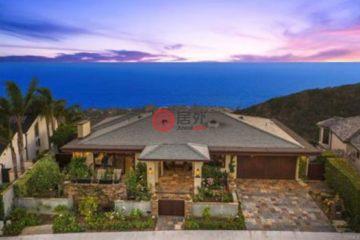 居外网在售美国4卧5卫最近整修过的房产总占地14104平方米USD 4,998,000
