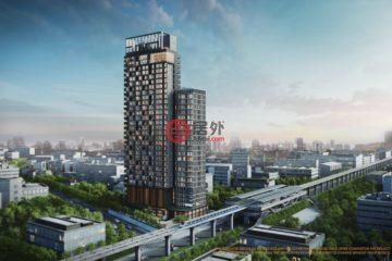 居外网在售泰国1卧1卫新房的新建房产总占地36平方米THB 7,000,000起