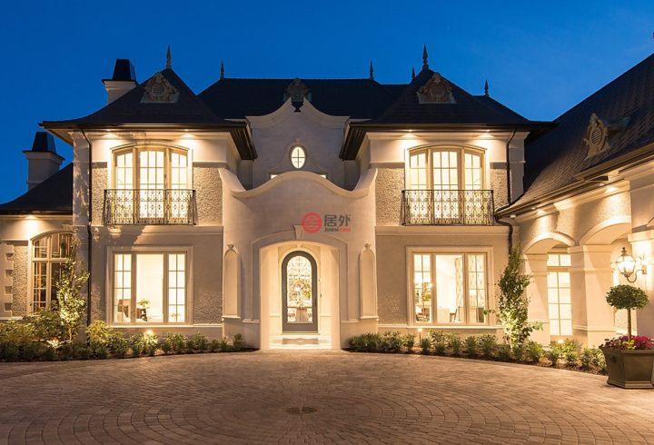 加拿大不列颠哥伦比亚省温哥华7卧9卫特别设计建筑的别墅沈阳林房产更新图片