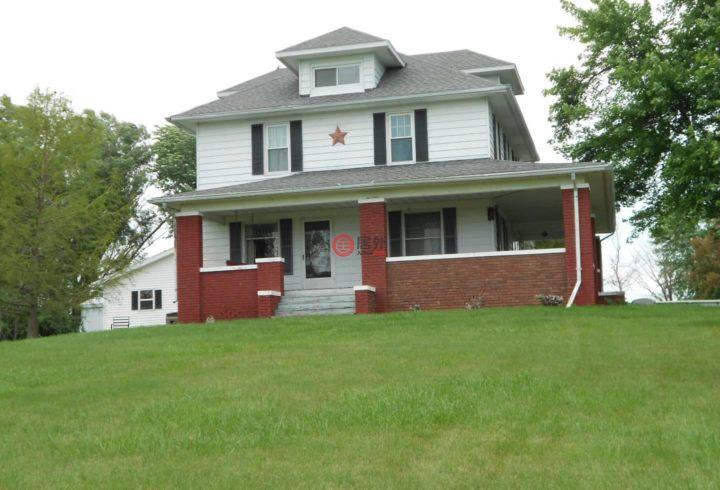 美国伊利诺伊州布什内尔的房产,19060 n 1800th rd,编号41126192