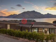 居外网在售新西兰皇后镇6卧5卫的房产总占地668平方米