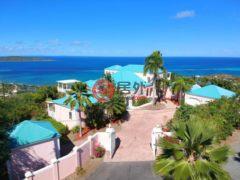 居外网在售美属维京群岛5卧5卫的房产总占地2671平方米USD 1,700,000