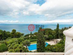 居外网在售意大利Capri16卧18卫的房产总占地1200平方米