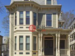 居外网在售美国剑桥6卧5卫的房产总占地688平方米USD 3,688,000