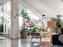 居外网在售瑞典斯德哥尔摩5卧的房产总占地132平方米SEK 14,500,000