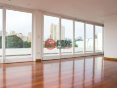 居外网在售秘鲁San Isidro4卧4卫的房产总占地617平方米USD 5,000 / 月