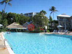 居外网在售开曼群岛2卧2卫的房产总占地110平方米USD 800,000