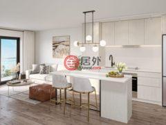 居外网在售加拿大2卧2卫的新建房产总占地88.7224032平方米