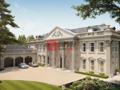 居外网在售英国11卧的独栋别墅总占地2787平方米