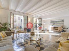 居外网在售西班牙Barcelona3卧2卫的房产总占地173平方米EUR 1,150,000