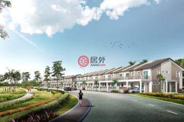 居外网在售马来西亚4卧3卫新开发的房产总占地109平方米MYR 298,000