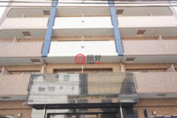 居外网在售日本大阪市1卧1卫的房产总占地200平方米JPY 15,900,000