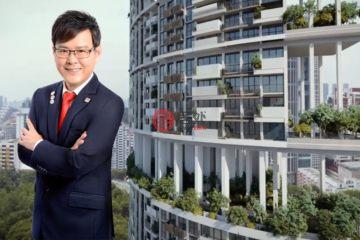 居外网在售新加坡3卧3卫新开发的公寓总占地111平方米SGD 2,900,000