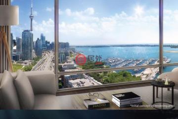 加拿大房产房价_安大略省房产房价_多伦多房产房价_居外网在售加拿大多伦多1卧1卫新开发的房产总占地60平方米CAD 832,900