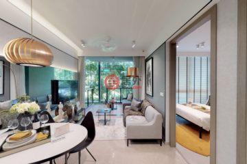 新加坡房产房价_Singapore房产房价_居外网在售新加坡Singapore2卧1卫新开发的房产总占地69平方米SGD 956,940