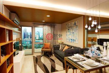 居外网在售菲律宾2卧2卫新房的房产总占地69平方米PHP 10,601,936