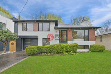 居外网在售加拿大3卧4卫曾经整修过的独栋别墅总占地409平方米CAD 2,097,000