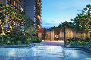 居外网在售新加坡2卧1卫新开发的房产总占地60284平方米SGD 893,000