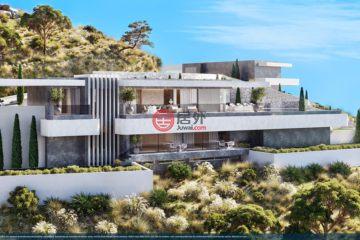 居外网在售西班牙Marbella3卧3卫的房产总占地3873平方米EUR 3,395,000