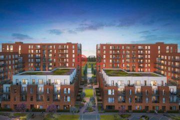 居外网在售英国1卧1卫新开发的公寓总占地47平方米GBP 357,000