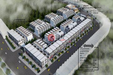 居外网在售柬埔寨3卧4卫新开发的房产总占地25000平方米USD 142,000