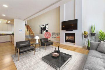 居外网在售美国旧金山3卧3卫的房产总占地241平方米USD 2,099,000