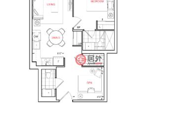 加拿大房产房价_安大略省房产房价_多伦多房产房价_居外网在售加拿大的房产总占地57平方米CAD 520,000