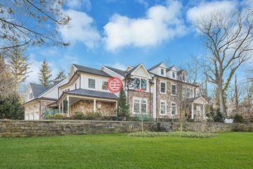 美国房产房价_新泽西州房产房价_富兰克林莱克斯房产房价_居外网在售美国富兰克林莱克斯6卧7卫新房的房产总占地3885平方米USD 2,899,999
