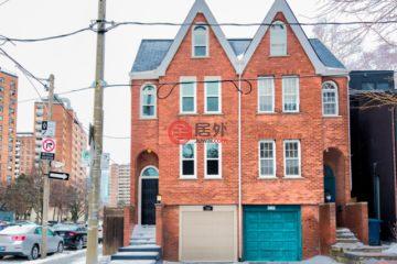 居外网在售加拿大多伦多3卧3卫的房产总占地156平方米CAD 1,399,000
