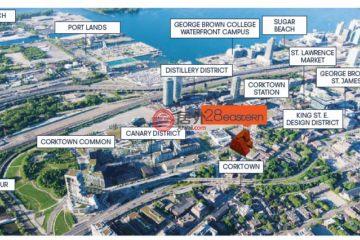 居外网在售加拿大1卧1卫新开发的房产总占地48平方米CAD 549,990