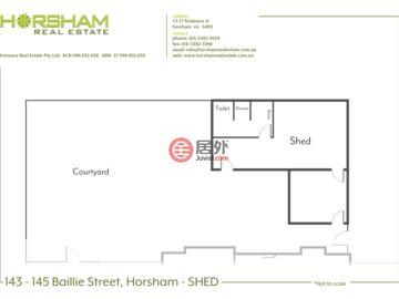 澳大利亚维多利亚州霍舍姆的商业地产,Baillie Street,编号56204895