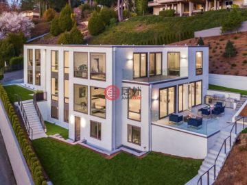 美国房产房价_华盛顿州房产房价_西雅图房产房价_居外网在售美国西雅图5卧5卫的房产总占地697平方米USD 9,888,000
