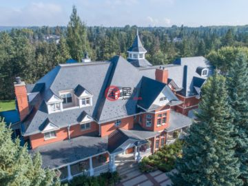 加拿大房产房价_阿尔伯塔房产房价_埃德蒙顿房产房价_居外网在售加拿大埃德蒙顿5卧9卫特别设计建筑的房产总占地3198平方米CAD 8,500,000
