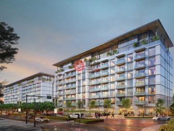 居外网在售阿联酋迪拜1卧2卫的新建房产总占地88平方米AED 1,480,000起