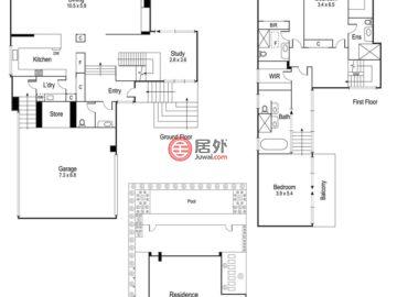 澳大利亚维多利亚州Toorak的房产,15D Evans Court,编号52528588