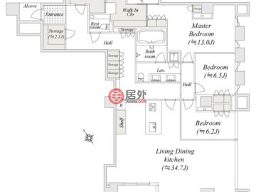 日本TokyoMinato的房产,编号51944840