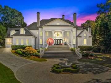 Majestic Estate Situated on Over a Two Acre Lot