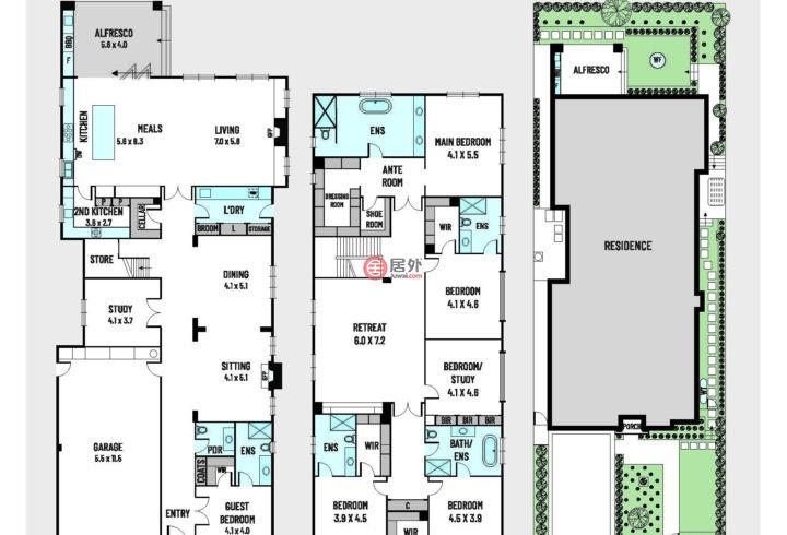 澳大利亚维多利亚州墨尔本的房产,10 Cityview Road,编号53266812