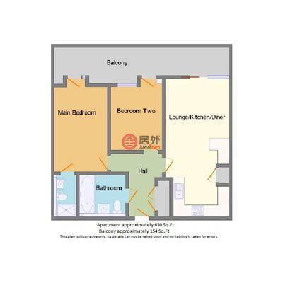 英国英格兰曼彻斯特的公寓,2 Kelso Place, Saint Georges Island,编号57843395