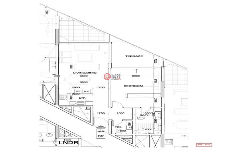 阿联酋迪拜迪拜的房产,编号51060031