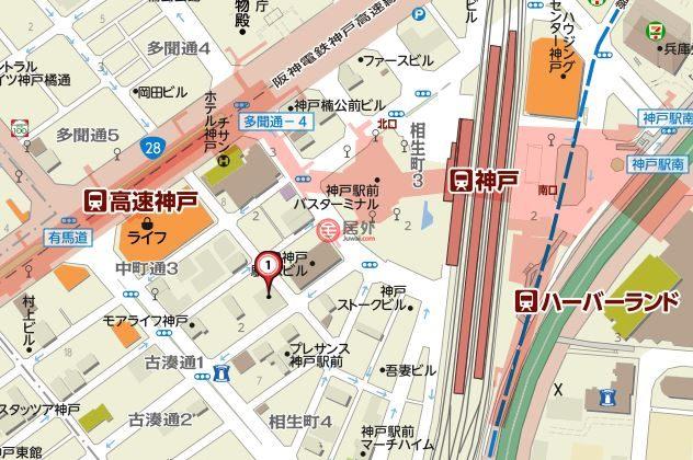 日本兵库县Kobe-shi的房产,中央区古湊通1丁目2-25,编号44022335