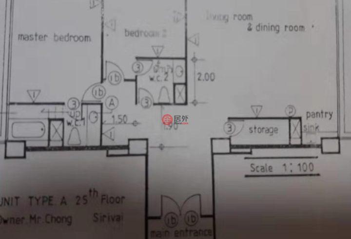 泰国春武里府Pattaya City的房产,Pattaya,编号51934557