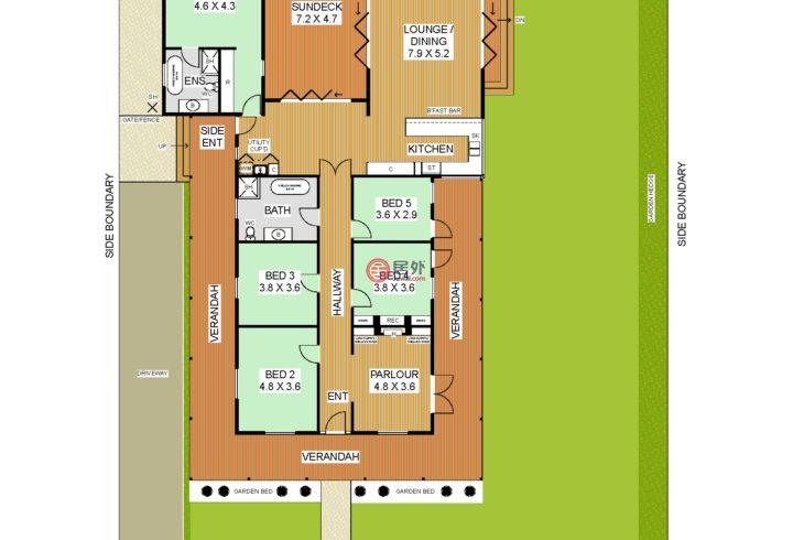 澳大利亚西澳大利亚州珀斯的房产,Kinninmont Avenue,编号51421588