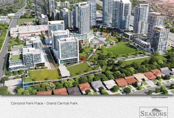 加拿大安大略省多伦多2卧2卫新开发的房产
