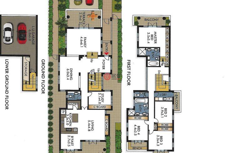 澳大利亚新南威尔士州悉尼的房产,41 Kings Rd,编号49637405