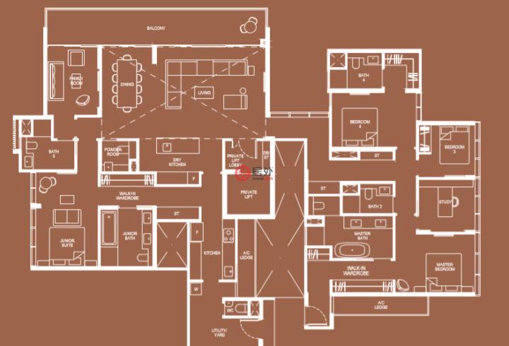 新加坡SingaporeSingapore的房产,编号54007323