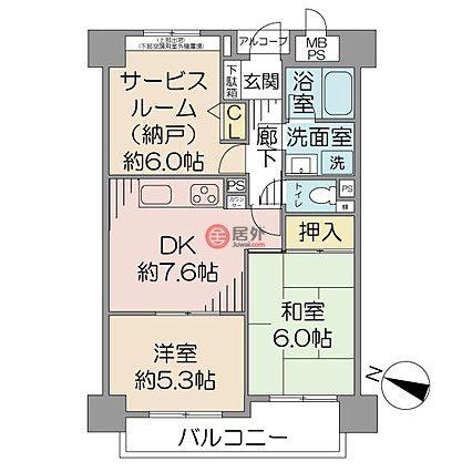 日本JapanTokyo的房产,神奈川県横浜市南区日枝町3丁目,编号54691626