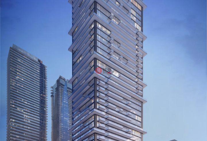 加拿大安大略省多伦多2卧2卫新开发的房产,编号28518